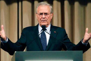 Donald Rumsfeld, el controvertido impulsor de la guerra de Irak