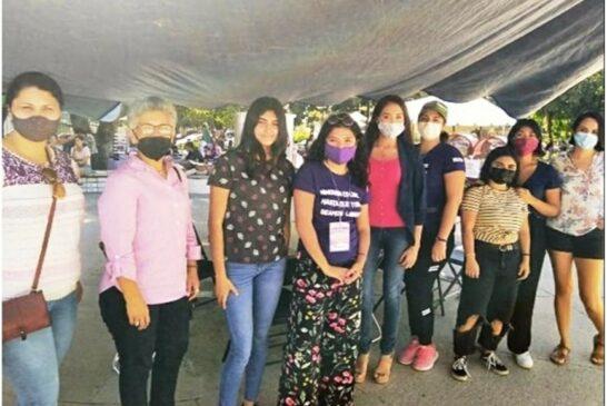 Intenso trabajo en la Policía Especial de Mujeres en PV
