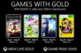 Te presentamos los juegos que llegan gratis en agosto 2021para tu Xbox