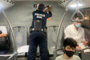 En Vallarta, se enfrenta la pandemia con acciones de la policía y bomberos