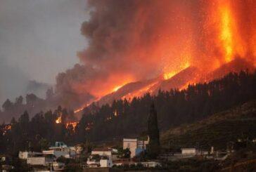 Masiva evacuación en España: más de 5.000 personas fueron desalojadas por la erupción del volcán en la isla de La Palma