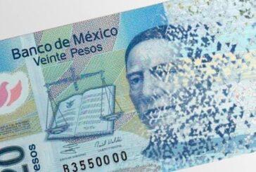 Nuevo billete de 20 pesos: estas son sus características