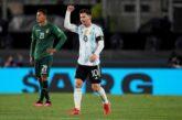 Argentina tiene una noche redonda en el Monumental y vence a Bolivia con triplete de Messi