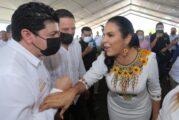 Asiste Jorge Quintero a toma de protesta de Mirtha Villalvazo