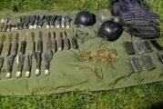 Autoridades federales aseguran arsenal